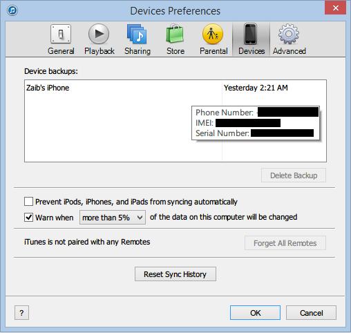 iTunes backup delete (3)
