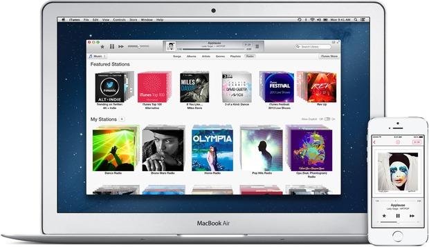 iTunes main