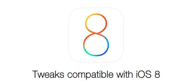 iOS 8 tweaks compatible