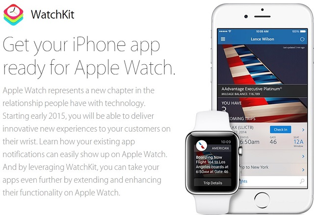 Apple releases WatchKit to let developers create apps for ...
