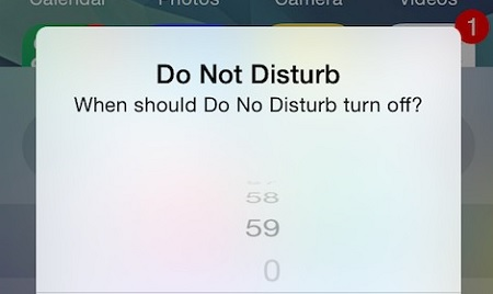 how to turn off do not disturb