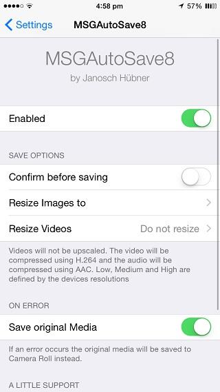 how to delete imessage attachments ios 8