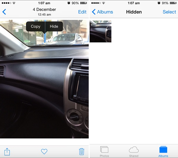 How to hide or unhide Photos on iPhone or iPad - iOS Hacker
