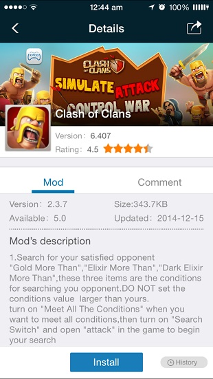 XModGames lets you easily add mods to your favorite iOS