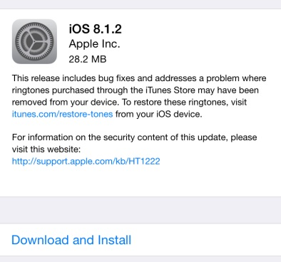 iOS 8 1 2 is now available, get direct download links here
