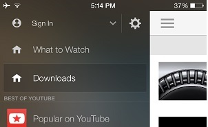 Cercube is the ultimate Youtube download tweak for iPhone