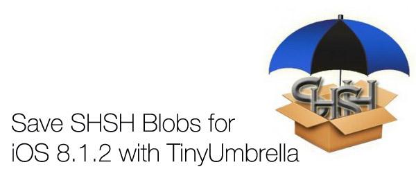 How to save iOS 8 1 x SHSH blobs using TinyUmbrella (guide