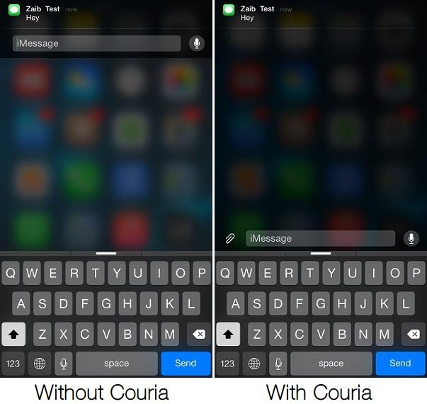 Couria iOS 8 tweak2