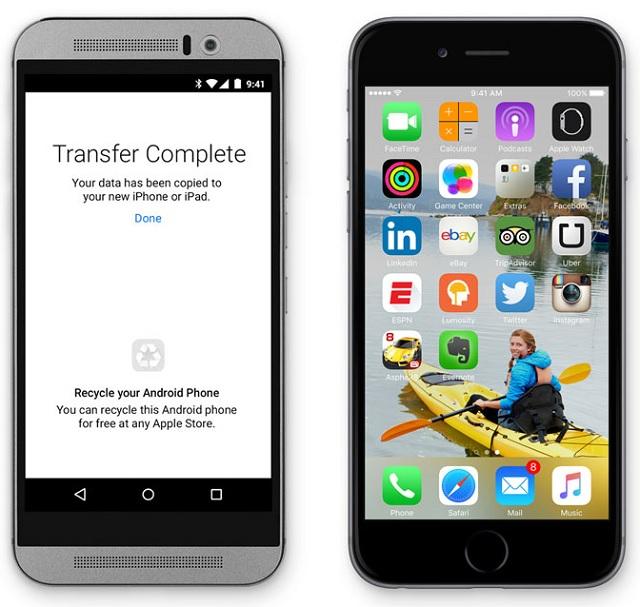 Move to iOS app