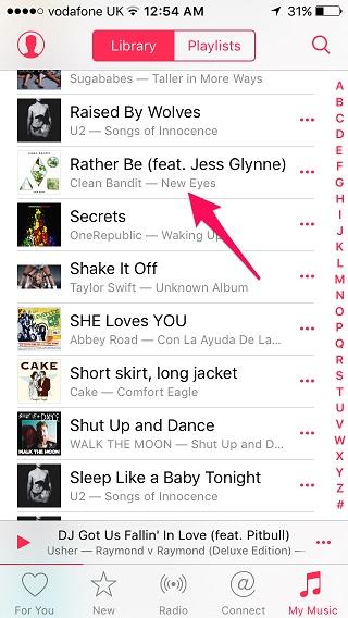 Apple Music Shazam 1