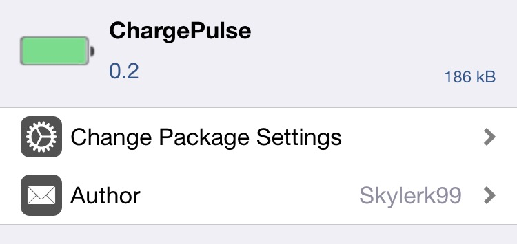 ChargePulse adds a slick animation to the battery indicator