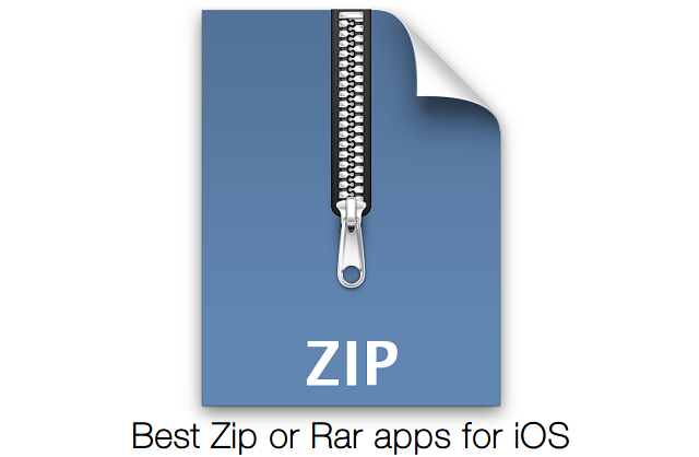 Best apps to open zip or rar files on iPhone, iPad or iPod