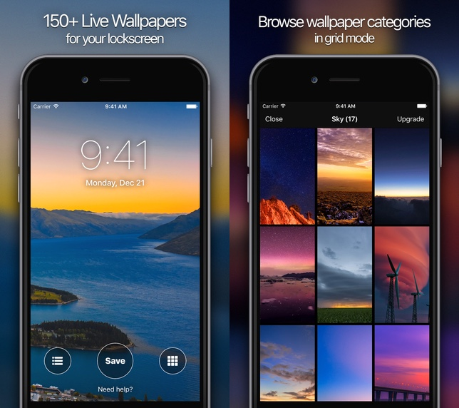 Live Wallpapes for iPhone 6s app