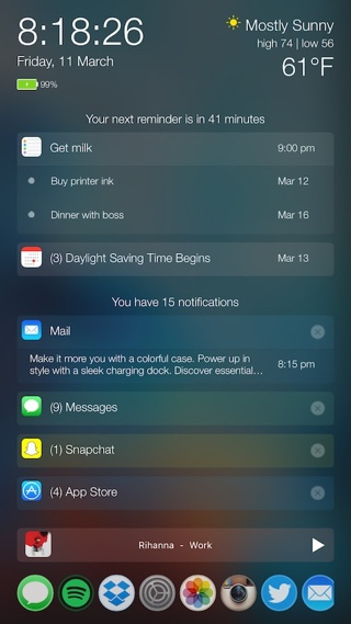 PersonalAssistant is the Best Lockscreen Tweak We Have Seen