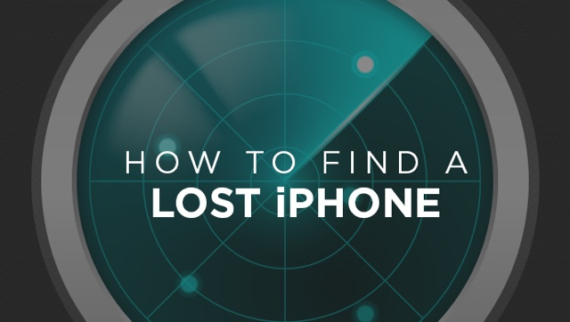 Find lost iPhone