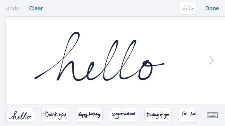 Scribble iOS 10