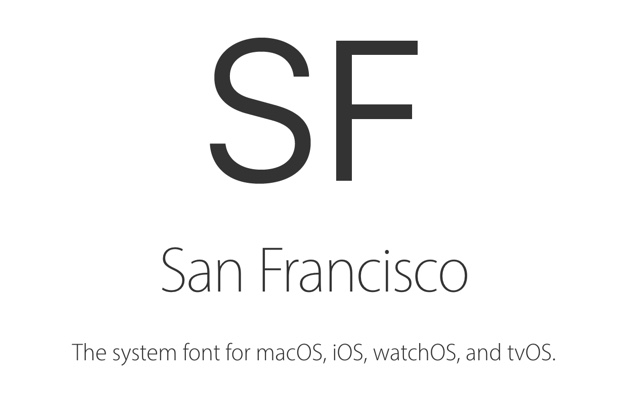 Here's How You Can Download San Francisco Font Apple.com ...
