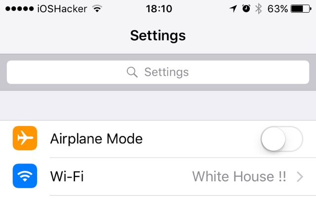 How To Replace Carrier Name With Any Text On iOS 10 - iOS Hacker
