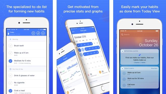 Habit Tracking Apps