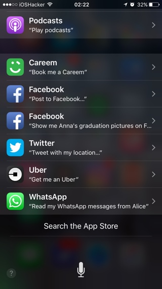 How To Check Which Installed Apps Offer Siri Integration