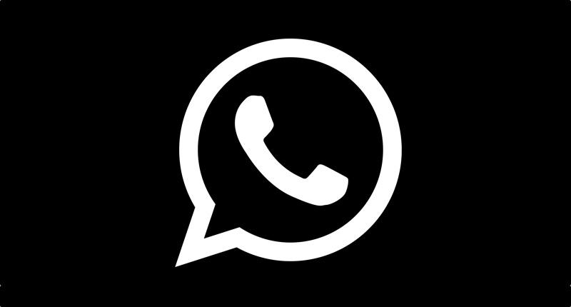 Whatsapp Schwarz Ios