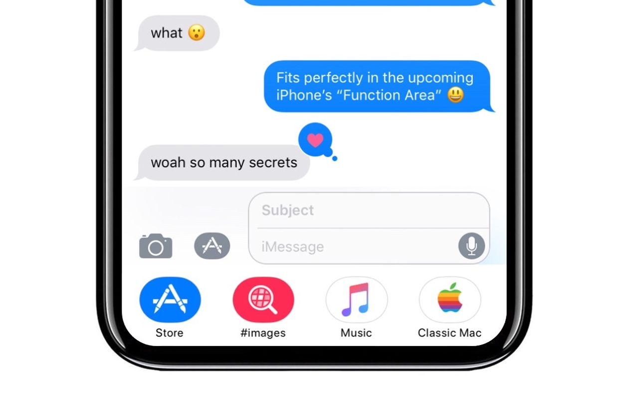 iOS 11 iMessage App Drawer Gives Us A Glimpse Into The