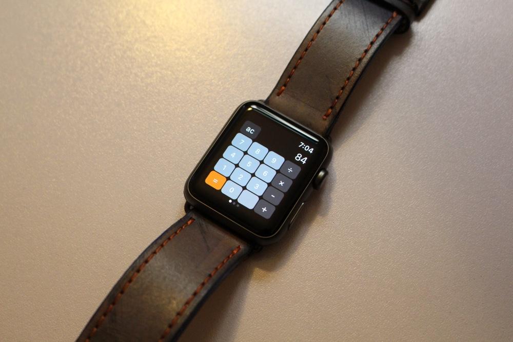 Apple Watch Calculator apps