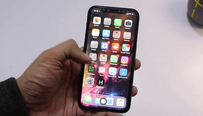 iphone os 10 add a home button to iphone x with assistivetouch 12106