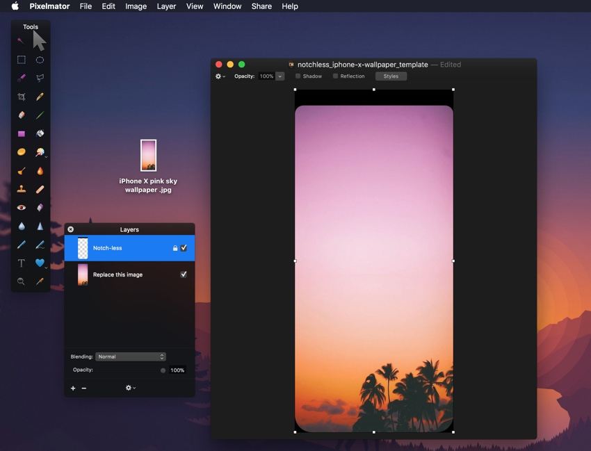 How To Create Notch Less Iphone X Wallpaper In Photoshop Or