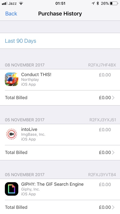 How To See Apple Id Purchase History On Iphone Or Ipad Ios Hacker