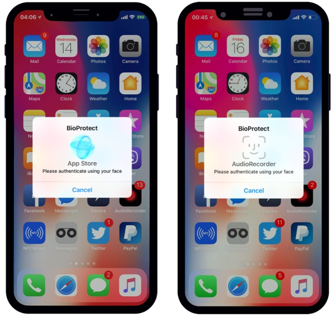BioProtect X Lets You Protect Your Apps With Face ID On iOS 11 - iOS
