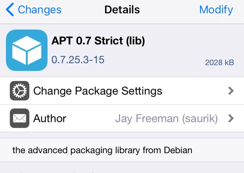 Avoid Updating APT 0 7 Strict After Electra Jailbreak, Fix For Those