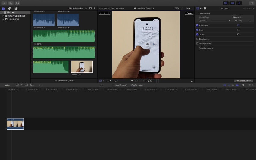 How To Edit Video In Instagram Resolution Using Final Cut Pro X Ios Hacker