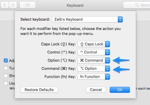 How To Configure A Windows Keyboard For Mac Or Hackintosh
