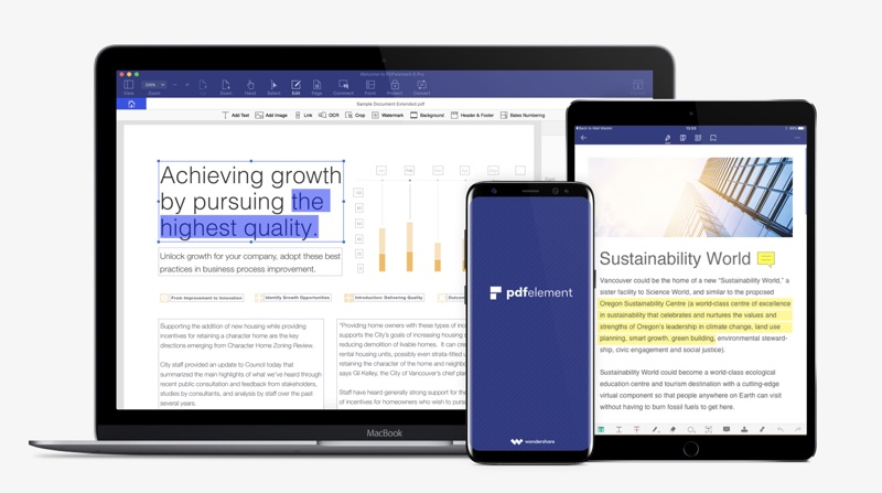PDFelement PDF Editor App For iOS Is The Only One You Need