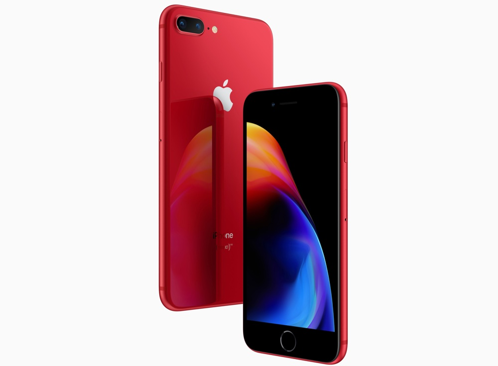 Download Wallpaper From Product Red Iphone 8 Marketing Material Ios Hacker