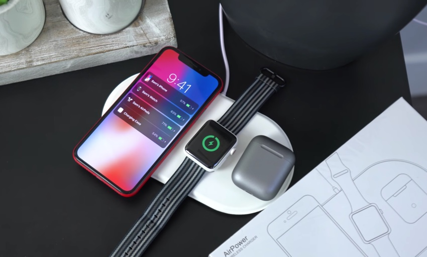 AirPower Clone Surfaces, Charges 3 Devices At Once - iOS Hacker