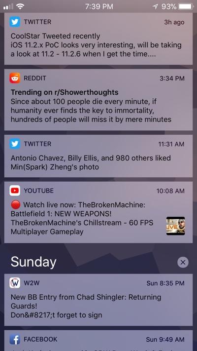 New iOS 11 Cydia Tweaks: NCSquared, Icon Resizer, PhotosTimeline And