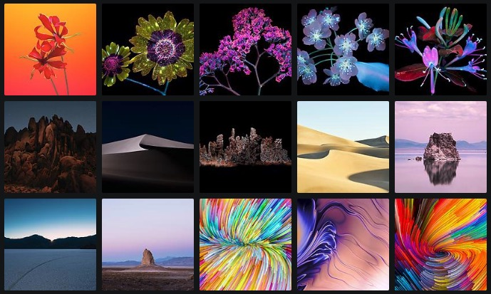 Download macOS Mojave Wallpapers From MacBook Pro And iMac