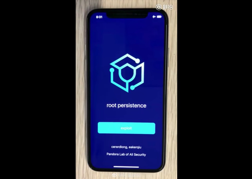 iOS 12 Untethered Jailbreak Demonstrated By Ali Security