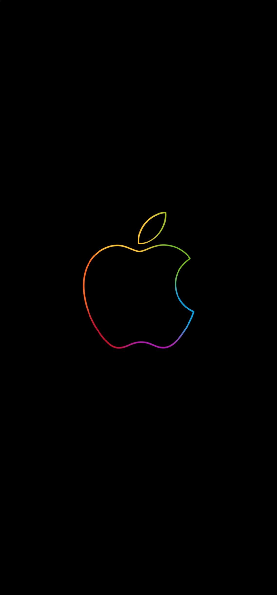 Iphone Xr Wallpaper Apple Logo Wallpaper Portrait