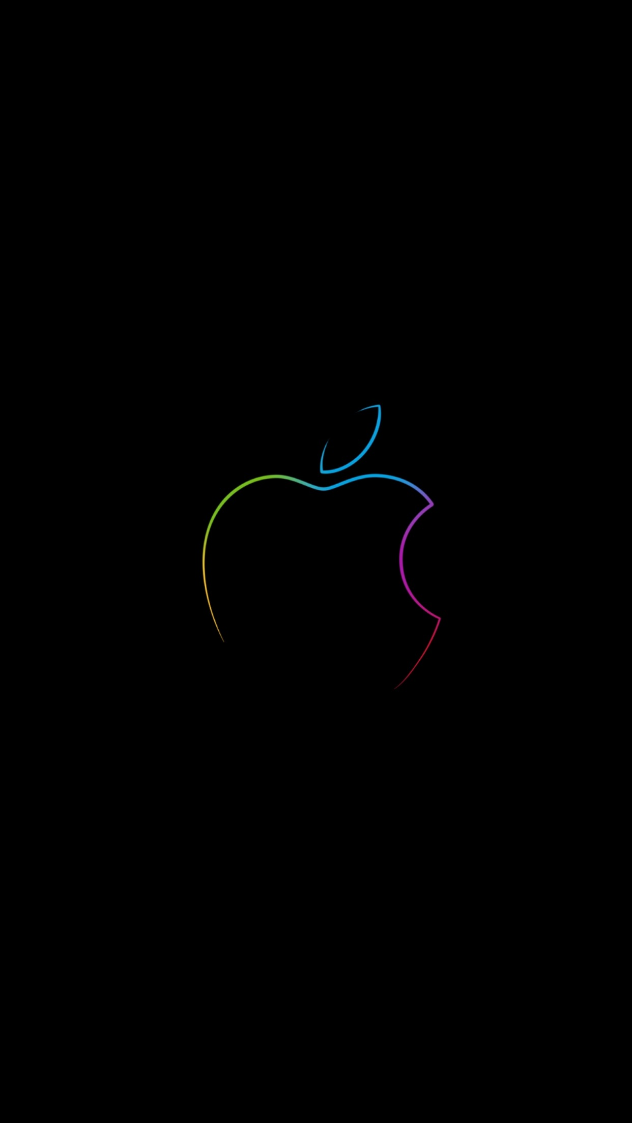 Download Apple Store Wallpapers Featuring The Colorful Apple Logo Ios Hacker