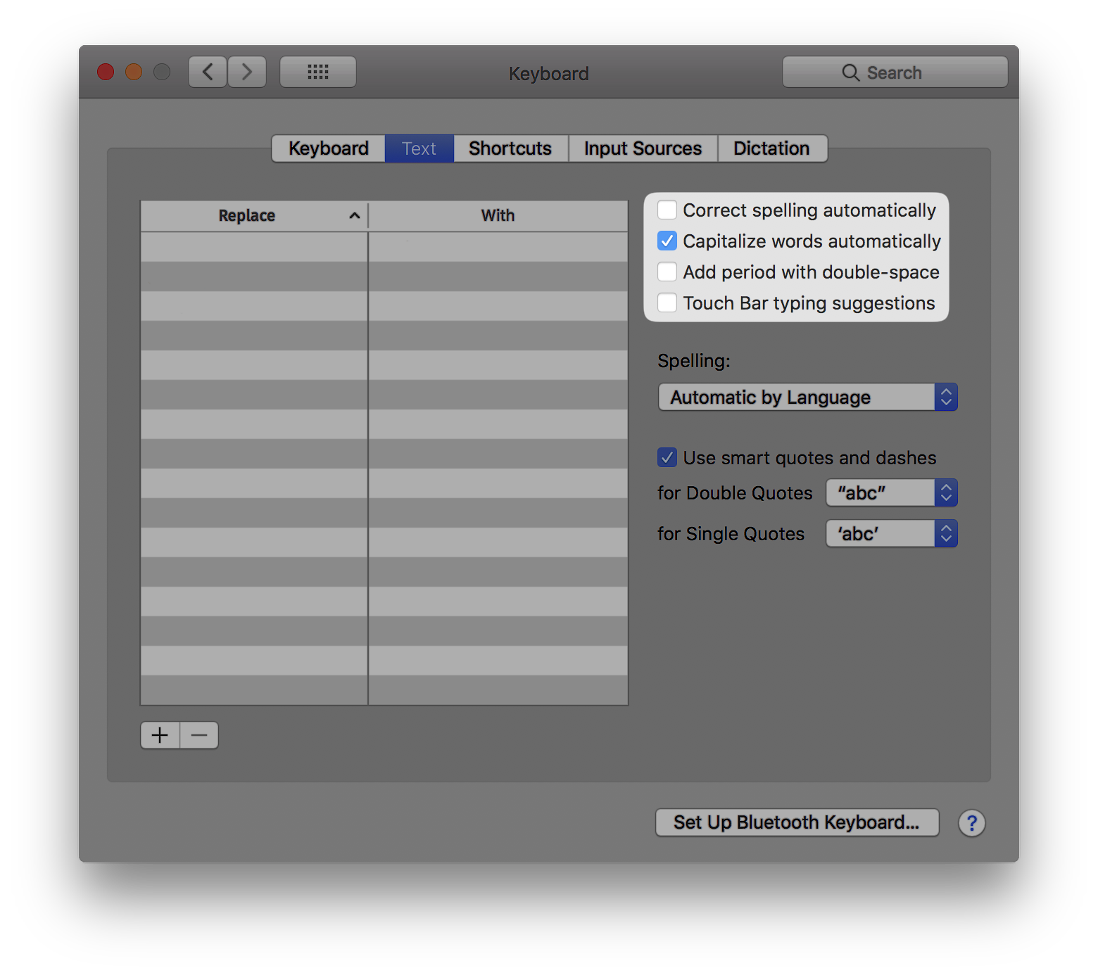How To Enable Automatic Capitalization On macOS - iOS Hacker