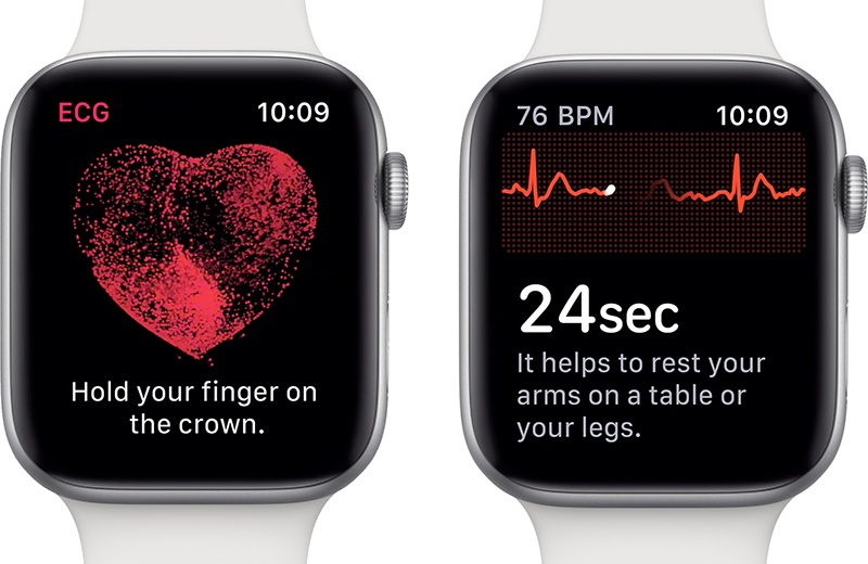 Apple Watch ECG feature countries