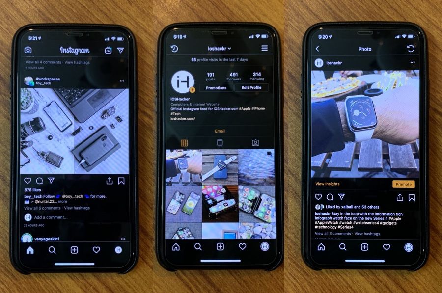 How To Get A Dark Mode In Instagram For iPhone - iOS Hacker