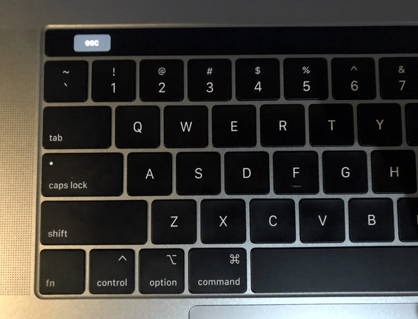 Fix MacBook Pro Only shows esc key