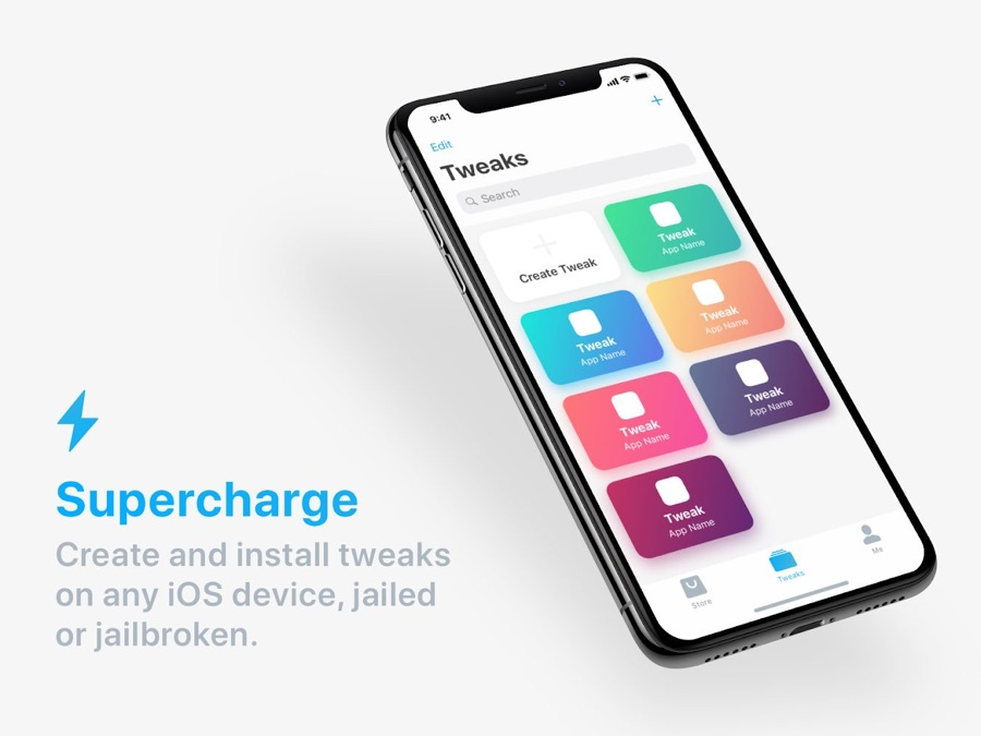 Supercharge: First App To Create And Install Tweaks On iOS
