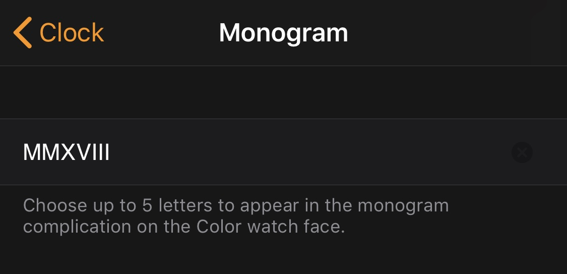How To Bypass The 5 Character Monogram Limit For Apple Watch Ios Hacker