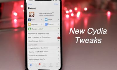 New Cydia tweaks