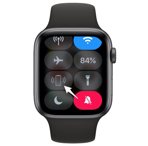 Find iPhone from Apple Watch